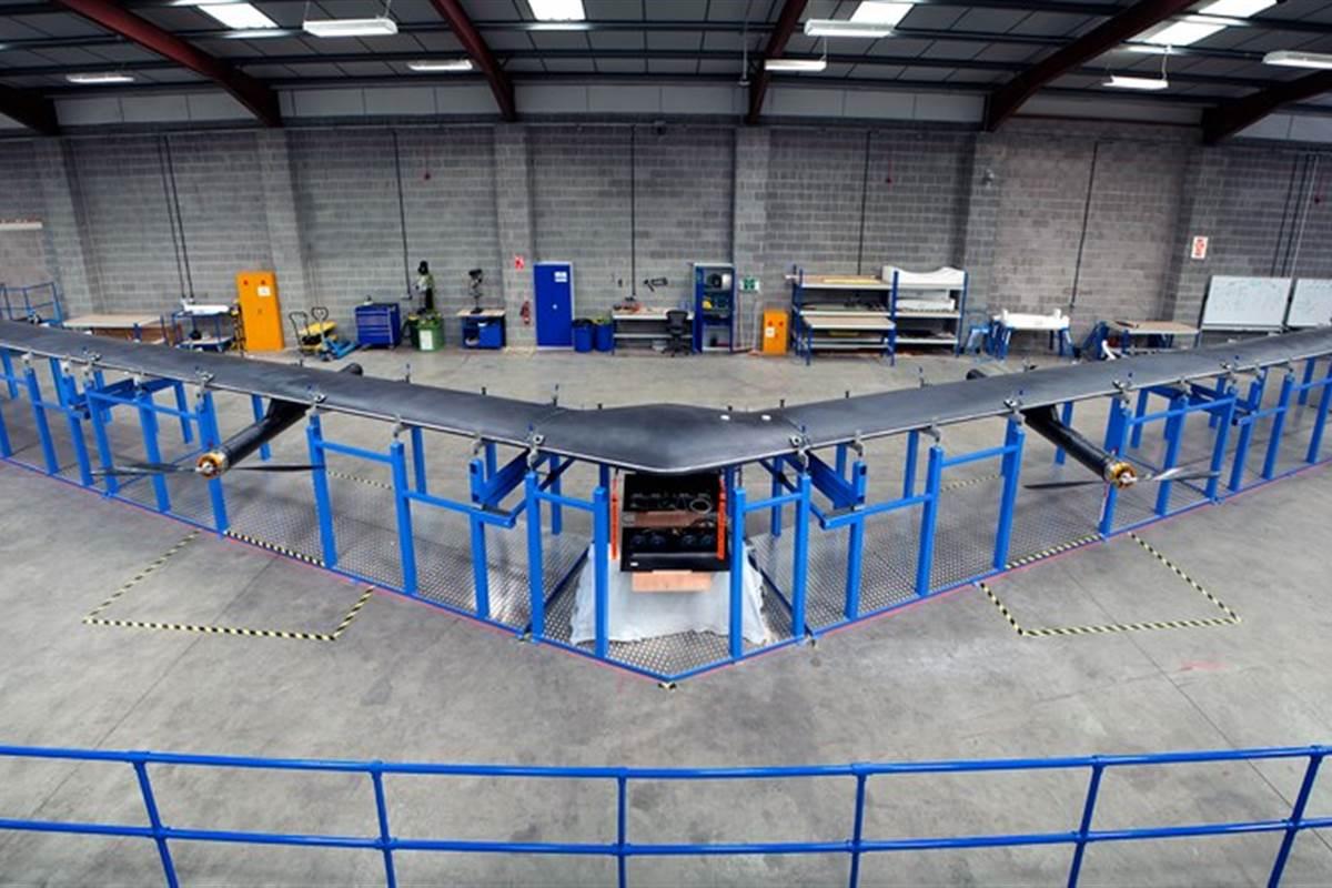 Facebook Aquila UAV